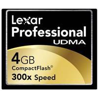 Lexar Pro UDMA 300x 4GB CF
