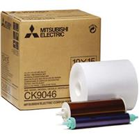 """Mitsubishi 6"""" Wide Paper Roll & Inksheet for 600 Photos, ..."""