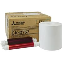 """Mitsubishi 5x7"""" Paper Roll and Inksheet Dye Sub Media for..."""