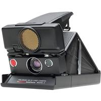 Polaroid SX 70 Sonar Camera, Black