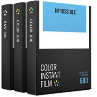 Triple Pack Film for Polaroid 600-Type and Impossible I-T...
