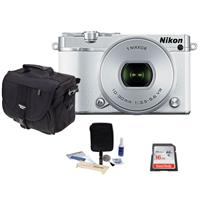 Nikon 1 J5 Mirrorless Digital Camera with 1 NIKKOR 10-30m...