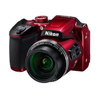 Nikon Coolpix B500 Digital Point & Shoot Camera, Red