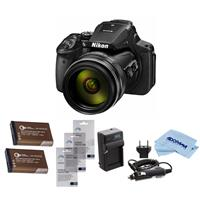 Nikon COOLPIX P900 Digital Camera, 83x Optical Zoom, - BU...