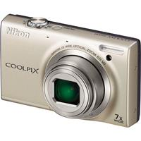 Nikon Coolpix S6100 Digital Camera with 16 Megapixels, 7x Wide Angle Optical Zoom