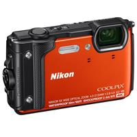 Nikon Coolpix W300 Point & Shoot Camera, Orange