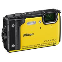 Nikon Coolpix W300 Point & Shoot Camera, Yellow