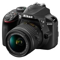 Nikon D3400 DSLR with AF-P DX NIKKOR 18-55mm f/3.5-5.6G V...