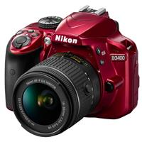 Nikon D3400 DSLR with AF-P DX NIKKOR 18-55mm f/3.5-5.6G V...