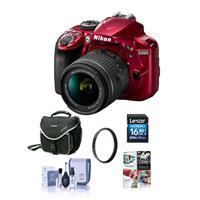 Nikon D3400 DX-Format DSLR Camera Body with AF-P DX NIKKO...