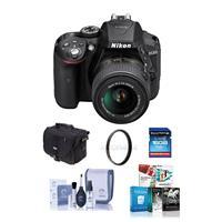 Nikon D5300 24.1MP DX-Format DSLR Camera w/AF-S DX NIKKOR...