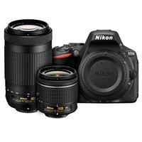 Nikon D5500 DSLR with AF-P DX NIKKOR 18-55mm f/3.5-5.6G V...
