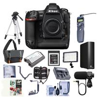 Nikon D5 FX-Format DSLR Camera Body (XQD Version) - Bundl...