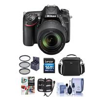Nikon D7200 DX-Format DSLR Camera with AF-S DX NIKKOR 18-...
