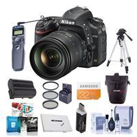 Nikon D750 FX-Format Digital SLR Camera with AF-S NIKKOR ...