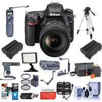 Nikon D750 FX-Format Digital SLR Camera with AFS NIKKOR 2...