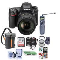 Nikon D750 FX-Format DSLR Camera with AF-S NIKKOR 24-120m...