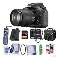 Nikon D810 Digital SLR Kit with AF-S NIKKOR 24-120mm f/4G...