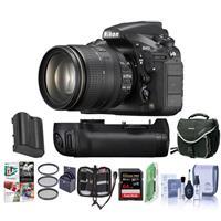D810 DSLR with AF-S NIKKOR 24-120mm f/4G ED VR Lens - Bun...