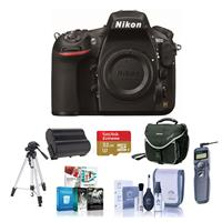 Nikon 810 Digital SLR Camera, 36.3MP - Bundle with 32GB C...