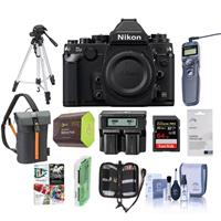Nikon Df FX-Format Digital SLR Camera Body 16.2MP Black -...