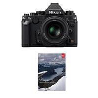 Nikon Df FX-format Digital SLR Camera Kit with AF-S NIKKO...
