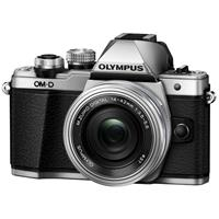 Olympus OM-D E-M10 Mark II Camera with 14-42mm Lens, Silver