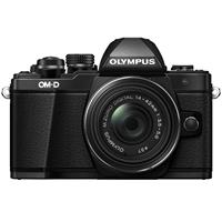 Olympus OM-D E-M10 Mark II Mirrorless Camera with M.Zuiko...