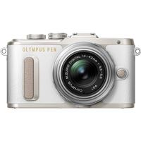 Olympus PEN E-PL8 Mirrorless Camera with Silver M.Zuiko D...