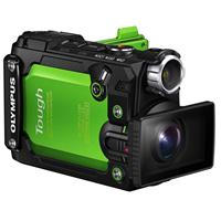 Olympus Stylus Tough TG-Tracker Digital Camera, Green