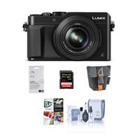 Panasonic Lumix DMC-LX100 Digital Camera, 12.8MP, Black -...
