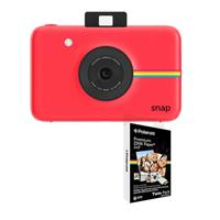 SNAP 10MP Instant Digital Camera, Red - With Polaroid 2x3...