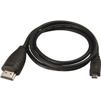 Pentax HDMI Cable 3' (Micro, Type-D, High Speed)