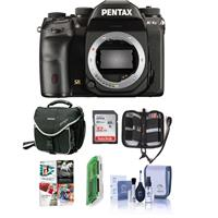 Pentax K-1 Mark II DSLR Camera (Body Only) - Bundle With 32GB SDHC Card, Camera Case, Cleaning Kit, Memory Wallet, Card Reader, PC Software Package