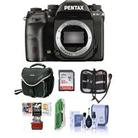 Pentax K-1 Mark II DSLR Camera (Body Only) - Bundle With 32GB SDHC Card, Camera Case, Cleaning Kit, Memory Wallet, Card Reader, Mac Software Package