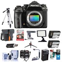 Pentax K-1 Digital SLR Camera Body - Bundle With Camera C...