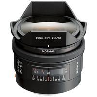 Sony 16mm f/2.8 Alpha A DSLR Mount Fisheye Lens