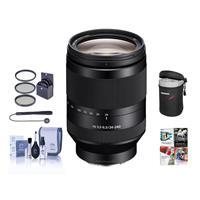 Sony FE 24-240mm F3.5-6.3 OSS E-Mount NEX Camera Lens Bun...