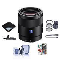 Sony Sonnar T* FE 55mm F1.8 ZA E-mount NEX Camera Lens Bu...