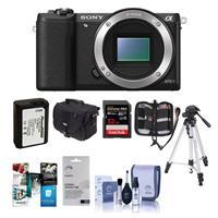 Sony Alpha A5100 Mirrorless Digital Camera Body, - Bundle...