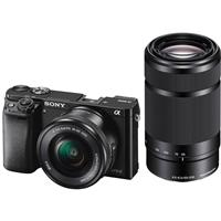 Sony Alpha A6000 Mirrorless Camera with 16-50mm f/3.5-5.6...