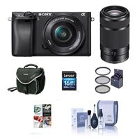 Sony Alpha A6000 Mirrorless Digital Camera with 16-50mm f...