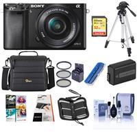 Sony Alpha A6000 Mirrorless Digital Camera with 16-50mm E...