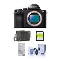 Sony Alpha a7 Mirrorless Digital Camera, Full Frame 24MP,...