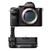 A7R II Alpha Full Frame Mirrorless Digital Camera Body - Bundle With Sony Vertical Grip