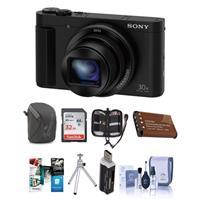 Sony DSC-HX80 Digital Camera, Black - Bundle with 32GB SD...