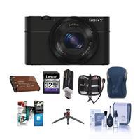 Sony Cyber-Shot DSC-RX100 Digital Camera, Black - with 32...