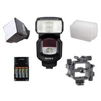 HVL-F43M Compact External Flash for Sony Cameras - Bundle...
