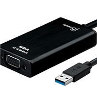 JUA310 USB 3.0 to VGA Display Adapter with 1080p HD Playback