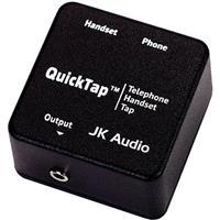 JK Audio QuickTap Telephone Handset Audio Interface, Mono...